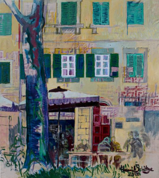painting by Henrik Fakir 1