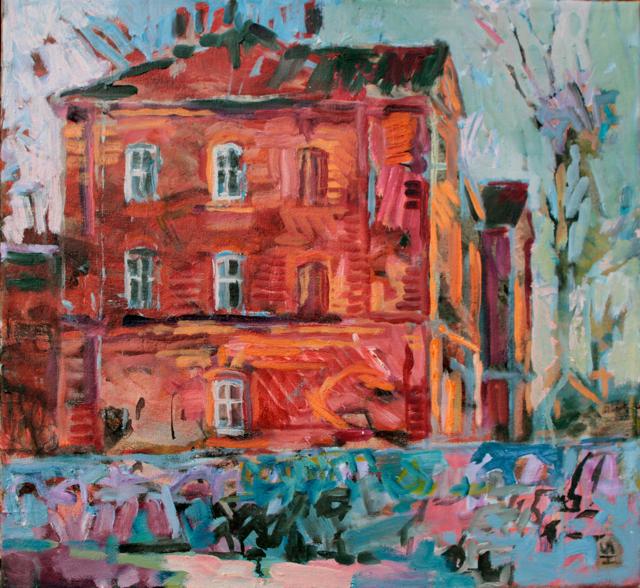 painting by Henrik Fakir 9