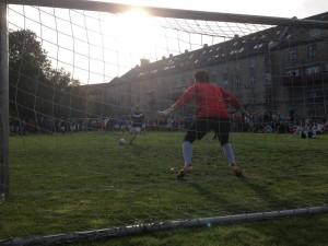 Så er der fodboldcup! Kom og se fodbold på fredens eng