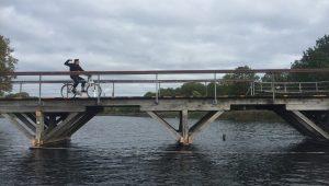 Dyssebroen er lukket i hele efterårsferien