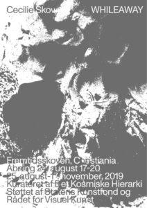 2 udstillinger på Christiania / Det Kosmiske Hierarki –  'Whileaway' Fremtidsskoven og  'Sandra of the Tuliphouse or how to Live in a Free State' Byens Lys, backstage.