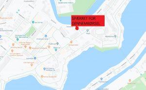 Cykelsti og adgangsvej på Christiania bliver lukket