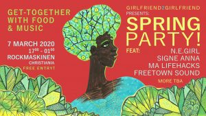 Spring Party! March 7th. Celebrating the International Women's Day in Christiania