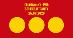 Christianias 49 års fødselsdag og ny Christiania plade!