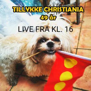 Christiania kommer til dig, på livestream fra Operaen kl. 16