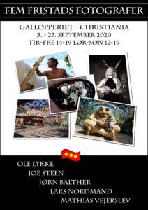 Fem Fristads Fotografer udstilling og fernisering på Gallopperiet 5-27 september.