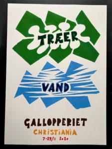 TRÆER – KOMMUNIKATION – VAND udstilling på Gallopperiet