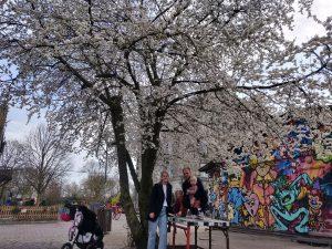 Forår på Christiania